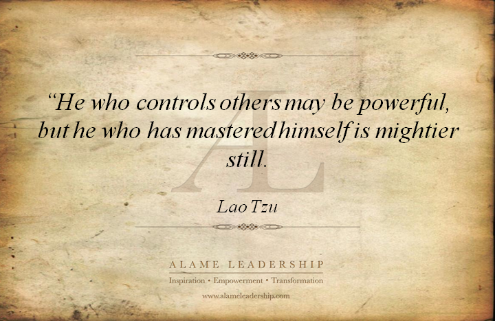 Al Inspiring Quote On Self Discovery: AL Inspiring Quote On Self Mastery