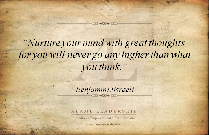 al inspiring quote on changing your thoughts alame