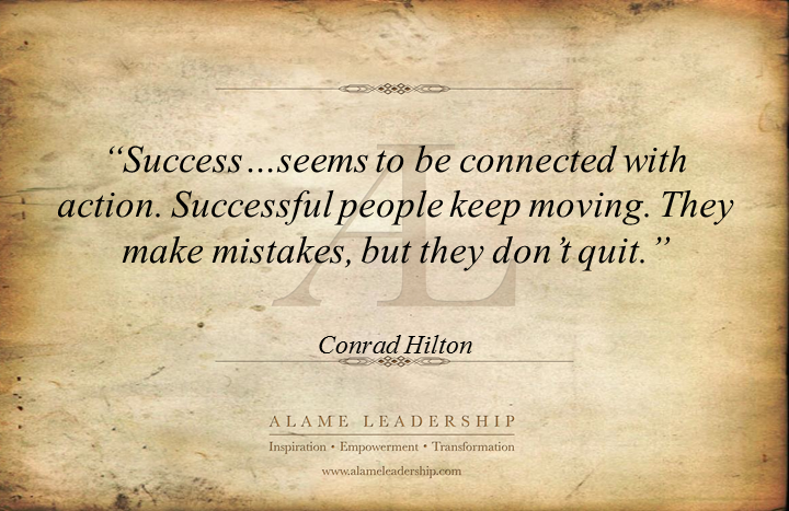 al inspiring quote on success alame leadership