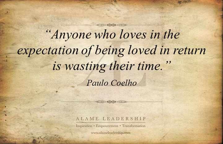 al inspiring quote on unconditional love alame