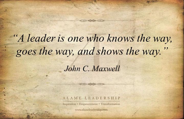 al inspiring quote on leadership alame leadership