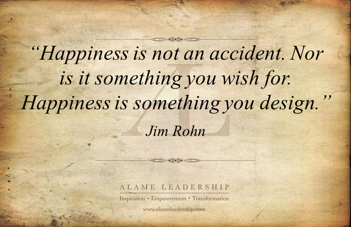AL Inspiring Quote on Happiness