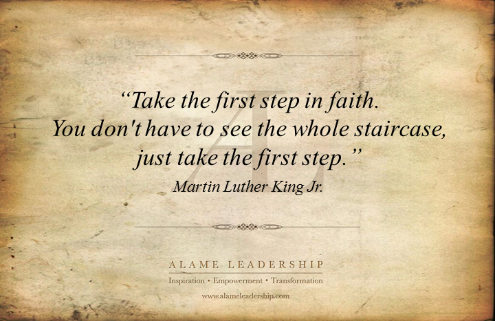 al inspiring quote on faith alame leadership