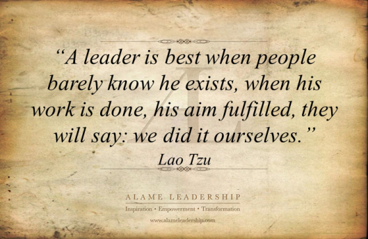 AL Inspiring Quote on Leadership 5