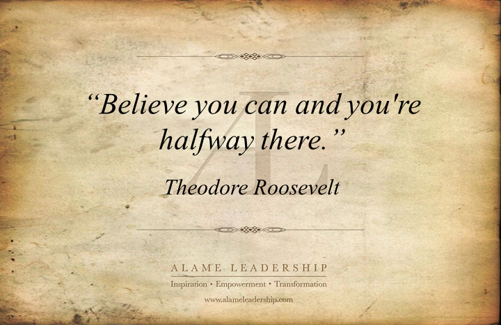 al inspiring quote on self belief alame leadership inspiration