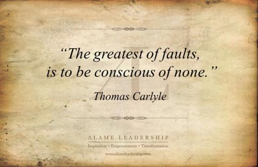 AL Inspiring Quote on Honest Self Reflection