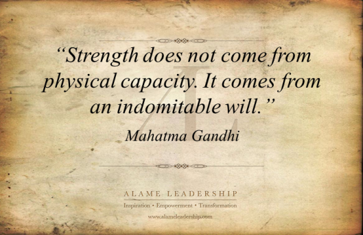 AL Inspiring Quote on Inner Strength
