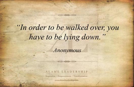 AL Inspiring Quote on  Self Esteem