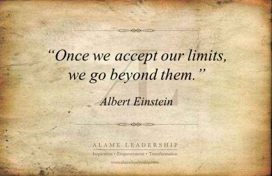 AL Inspiring Quote on Acceptance as First Step for Change
