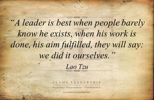 AL Inspiring Quote on  Leadership 2