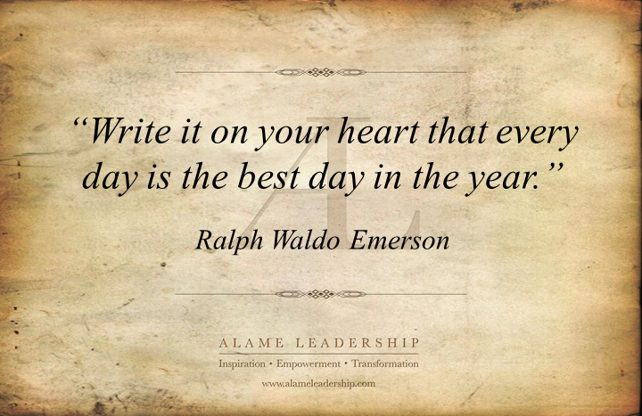 al inspiring quote on positive attitude alame leadership