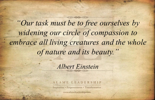 AL Inspiring Quote on Compassion