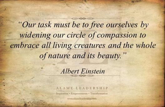 AL Inspiring Quote on Compassion