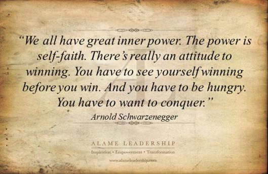 AL Inspiring Quote on Belief