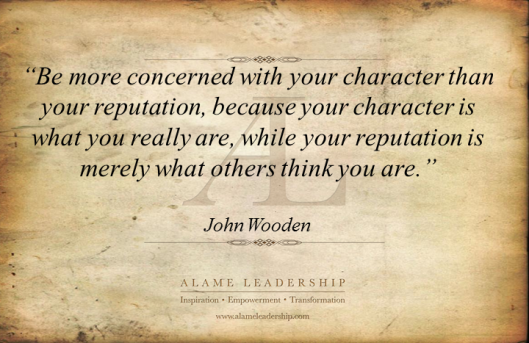 AL Inspiring Quote on Character