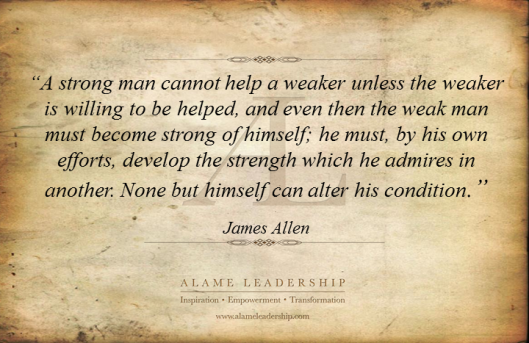 AL Inspiring Quote on Helping Oneself