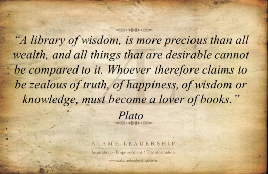 AL Inspiring Quote on Books