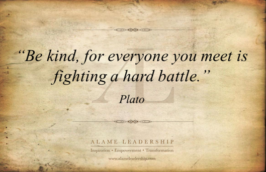 AL Inspiring Quote on Kindness