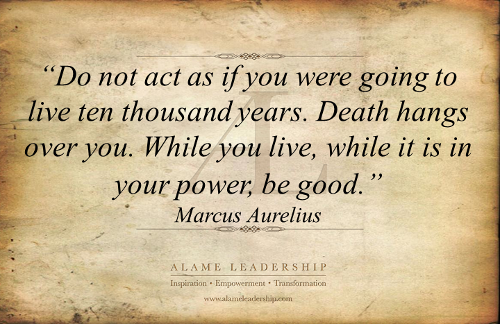 al inspiring quote on life alame leadership