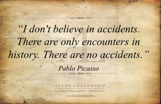 AL Inspiring Quote on Non Accidents