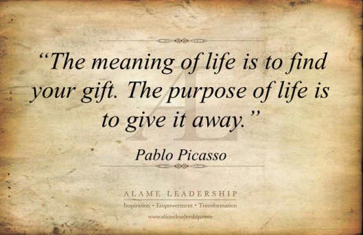 AL Inspiring Quote on Purpose of Life