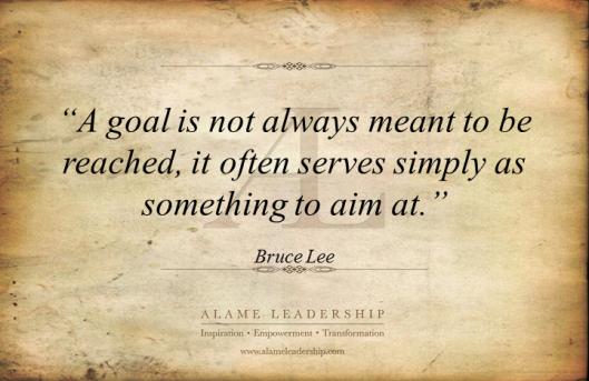 AL Inspiring Quote on Goals 2