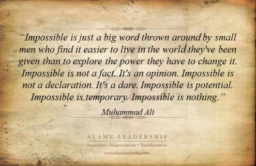 AL Inspiring Quote on No Limits 2
