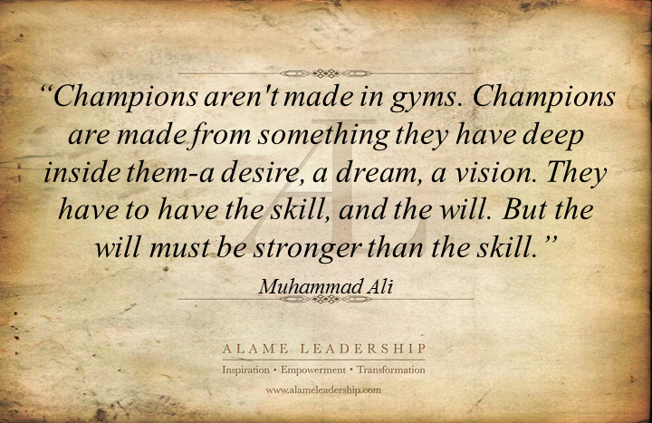 al inspiring on the power of desire and vision alame