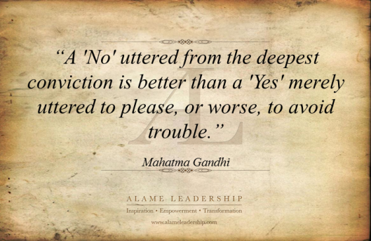 AL Inspiring Quote on Facing Truth