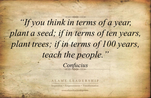 AL Inspiring Quote on Teaching