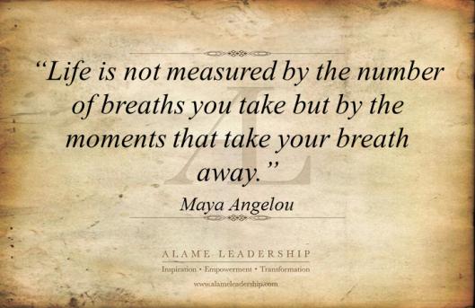 AL Inspiring Quote on True Living