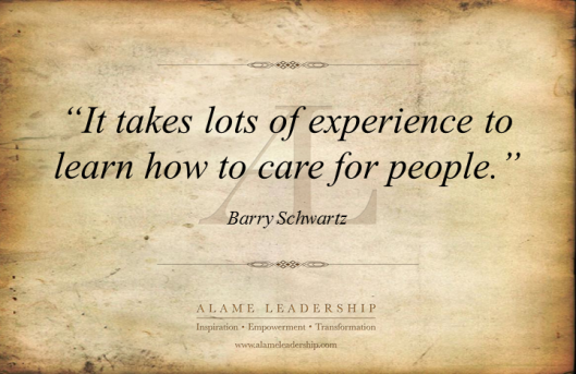AL Inspiring Quote on Caring