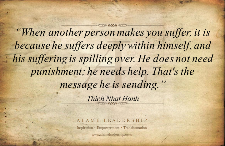al inspiring quote on helping others alame leadership