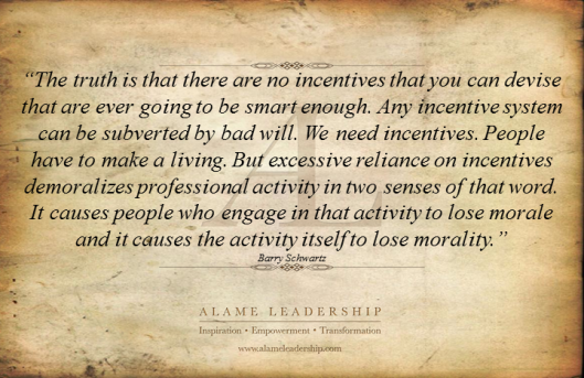 AL Inspiring Quote on Morale