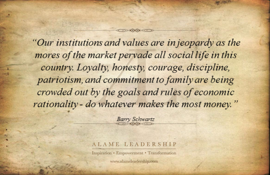 AL Inspiring Quote on Values