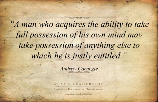 AL Inspiring Quote on Controling Own Mind
