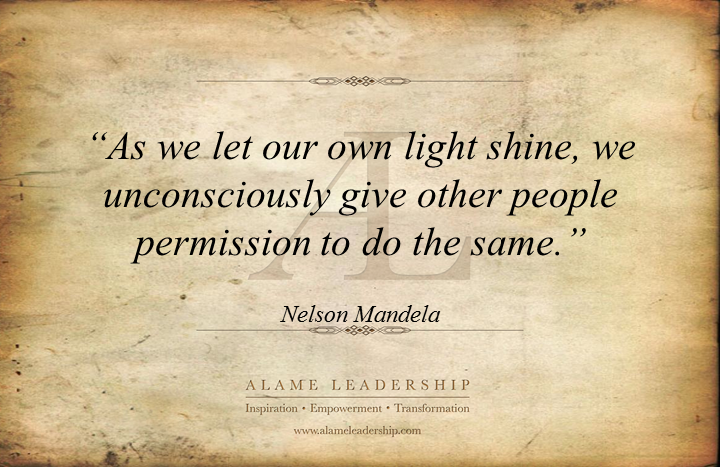 Al Inspiring Quote On Inspiring Others By Being Our Best Alame