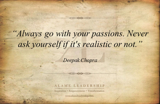AL Inspiring Quote on Passion
