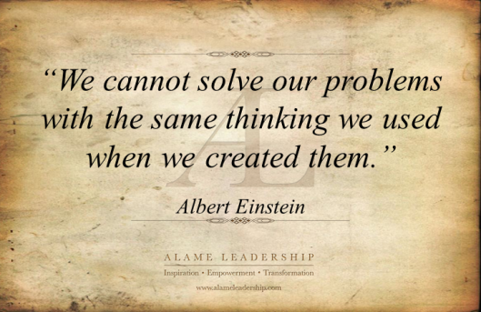 AL Inspiring Quote on Thinking