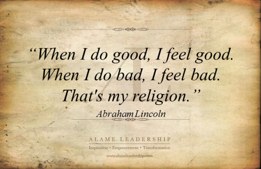AL Inspiring Quote on Doing Good