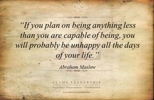 AL Inspiring Quote on Living our Potential 2