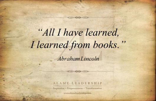 AL Inspiring Quote on Reading 2
