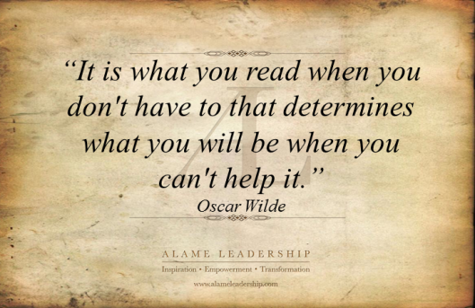 AL Inspiring Quote on Reading 3