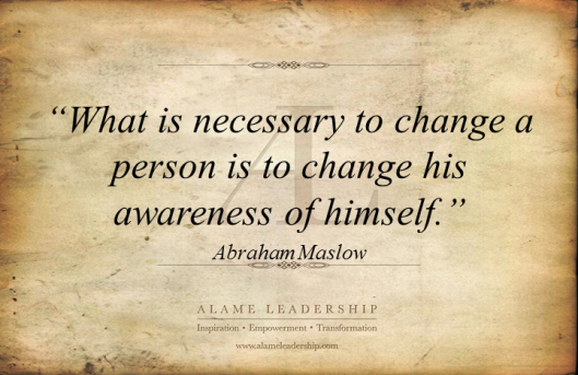 AL Inspiring Quote on Self Image and Change