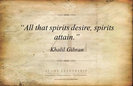 AL Inspiring Quote on Desire