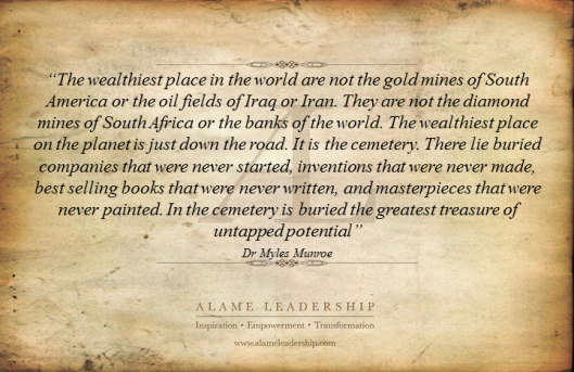 AL Inspiring Quote on Wealthiest Place in the World