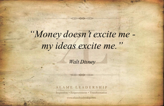 AL Inspiring Quote on Ideas