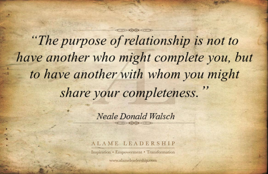 AL Inspiring Quote on Relationships