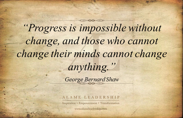 george bernard shaw s week al inspiring quote on change