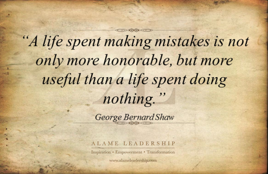 AL Inspiring Quote on Mistakes